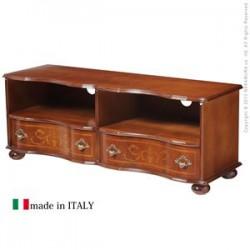 ローボード | ヴェローナクラシック 丸脚テレビボード 幅110cm イタリア 家具 ヨーロピアン テレビ台TV台アンティーク風