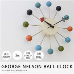 時計   GEORGE NELSON BALL CLOCK ジョージ・ネルソン ボールクロック