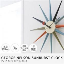 時計   GEORGE NELSON SUNBURST CLOCK ジョージ・ネルソン サンバーストクロック
