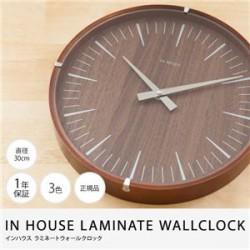 時計 | IN HOUSE LAMINATE WALLCLOCK ラミネートウォールクロック