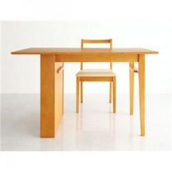 テーブル | シェルフ付エクステンションテーブルダイニング【flure】フルーレ 4点セット